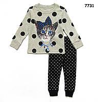 """Пижама """"Котёнок"""" для девочки. 5 лет, фото 1"""