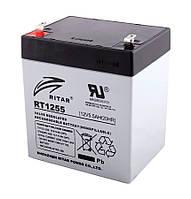 Акумуляторна батарея AGM RITAR RT1255, Gray Case, 12V 5.5Ah ( 90 х 70 х 101 (107) ) Q10