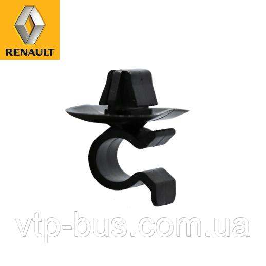 Зажим, крепление, держатель лапки капота на Renault Trafic (2001-2014) Renault (оригинал) 7703179014