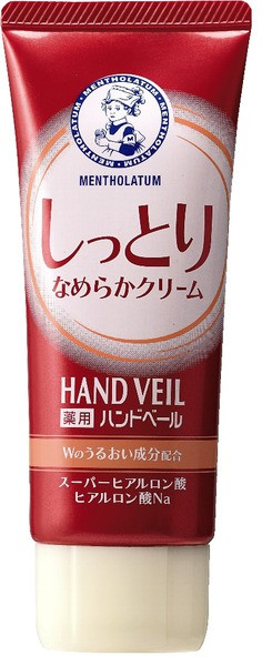 Rohto Pharmaceutical Mentholatum Hand Veil Крем для рук для пом'якшення шкіри, 70 г