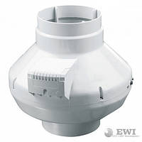 Канальный вентилятор Vents (Вентс) ВК 100 80 Вт 250 м³/ч
