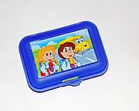 Бутербродница детская пластмассовая, фото 1