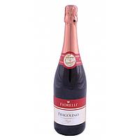 Вино игристое красное FRAGOLINO FIORELLI ROSSO 750мл (Италия).