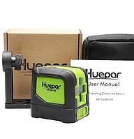 Лазерный уровень Huepar HP-9011G СУМКА и магнитный кронштейн в подарок!