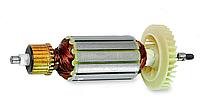 Якорь на болгарку (168*39/шпонка+резьба) 1300 вт, S1 M35