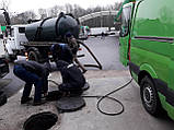 Прочистка засоров, чистка труб, прочистка канализации, промывка канализации, устранение засоров., фото 8