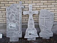 Памятники из гранулита, надгробья кресты образец №2