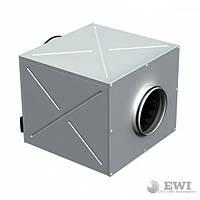 Шумоизолированный вентилятор Vents (Вентс) КСД 250 4Е 243 Вт 1520 м³/ч