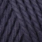 Yarnart Macrame Rope 5 мм № 750 чорний ( Ярн Арт макраме Рвп 5 мм пряжа, нитки для в'язання)
