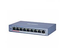 Комутатор POE Hikvision 51V DS-3E0109P-E / M 8 портів POE + 1 порт Ethernet (Uplink) 10 / 100Мбит / сек, БП
