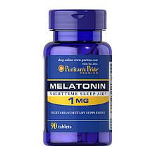 Мелатонін Puritan's Pride Melatonin 1 mg 90 Tabs