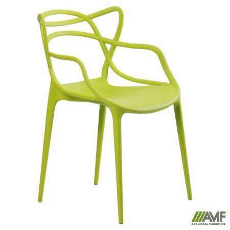 Пластиковый стул AMF Viti светло-зелёный