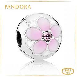 Пандора Клипса Магнолия Pandora 792078PCZ