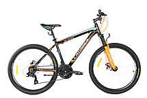 Горный велосипед Crosser Boy XC-200 26 дюймов 16,9 рама черно-зеленый, фото 3