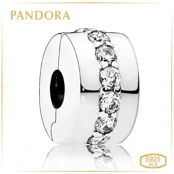 Пандора Клипса Сияющая тропа Pandora 791972CZ