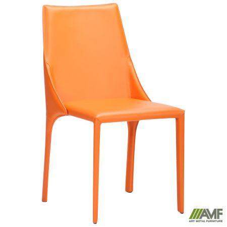 Стул Artisan orange leather
