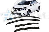 Ветровики Дефлекторы на Окна Toyota Corolla с 2013 г.в. (Седан)