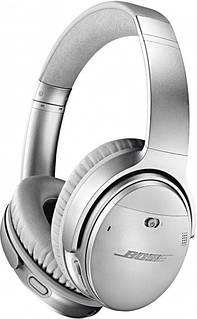 Бездротові навушники з шумопоглинання Bose QС 35 II (сріблясті)