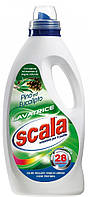 Бесфосфатный жидкий стиральный порошок итальянского производителя Scala Lavantrice Pino e Eucalipto 1,875L