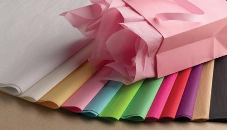 Декоративная бумага, тишью
