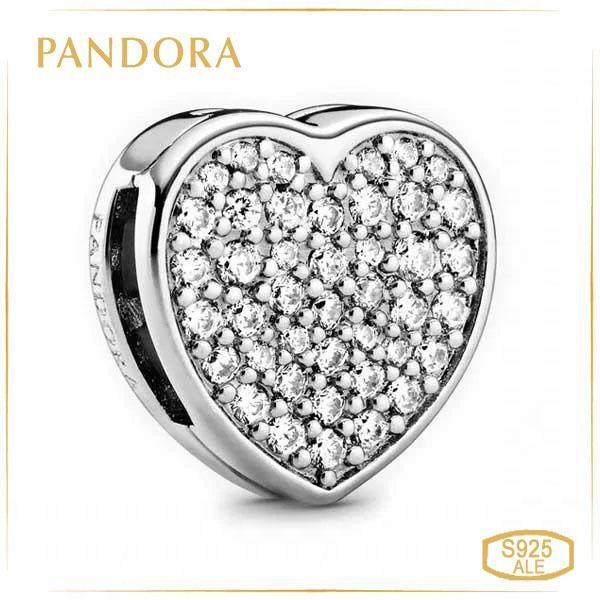 Пандора Кліпса Reflex Серце Pave Pandora 798684C01