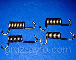 Комплект пружин 4 шт. стоянкового гальма Газ-53 Газ-3307 / 51-3507048/49.