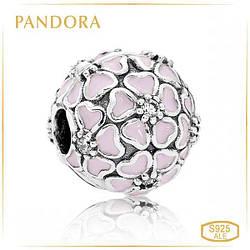 Пандора Клипса из серебра Цветение сакуры Pandora 791826EN40
