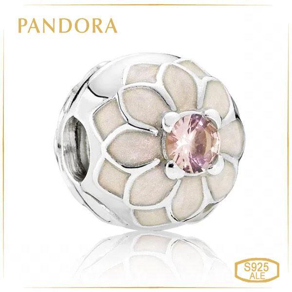 Пандора Кліпса з срібла Квітучий жоржин Pandora 791828NBP