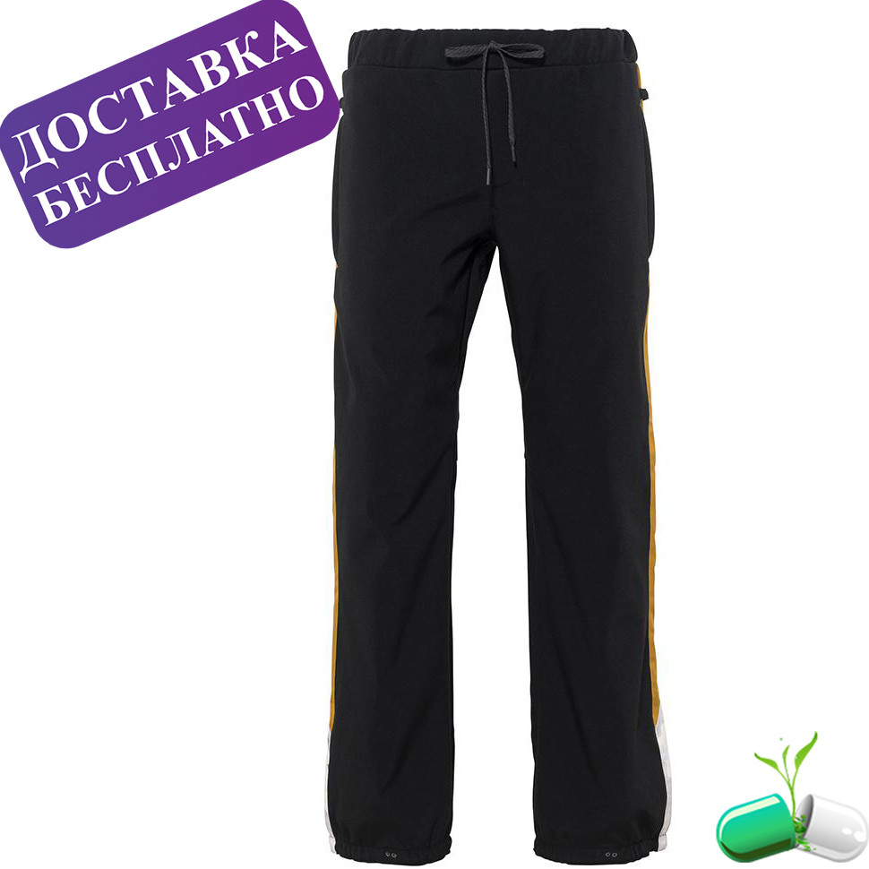 Штаны 686 Waterproof Track Pant (Black)