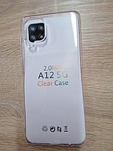 Чехол для Samsung A12 Silicone