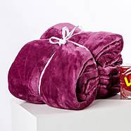 Плед с рукавами из микрофибры (фиолетовый), фото 4