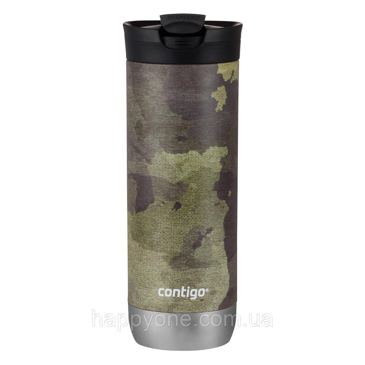 Термокружка Contigo Huron New Couture Snapseal Textured Camo (590 мл)
