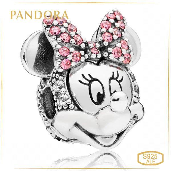 Пандора Клипса Сияющий портрет Минни Pandora 797496CZS