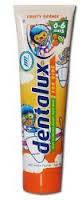 Детская зубная паста «Апельсин» Dentalux for kids Freche Orange 100ml
