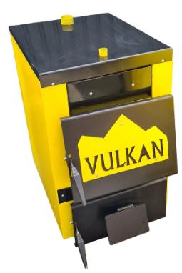 Котел Vulkan Classic 16 кВт твердотопливный утепленный
