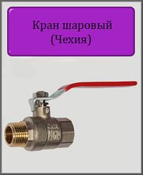"""Кран кульовий (ручка) 1 1/2"""" ВН (Чехія)"""