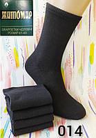 """Мужские тонкие носки """"Житомир"""". 100% хлопок. Черный цвет. №014. Розница."""
