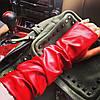 Высокие перчатки-митенки (разные цвета), фото 2