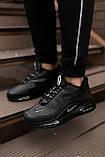 Nike Air Max 720 Black (Чорний), фото 4
