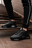 Nike Air Max 720 Black (Чорний), фото 5