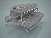 Клітка для кролів откормочная КО-1,5 108 кроликів