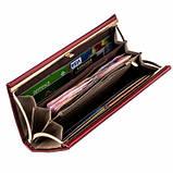 Женский кошелек клатч красный, эко кожа, ClassicSeries, EF-10 red, фото 2
