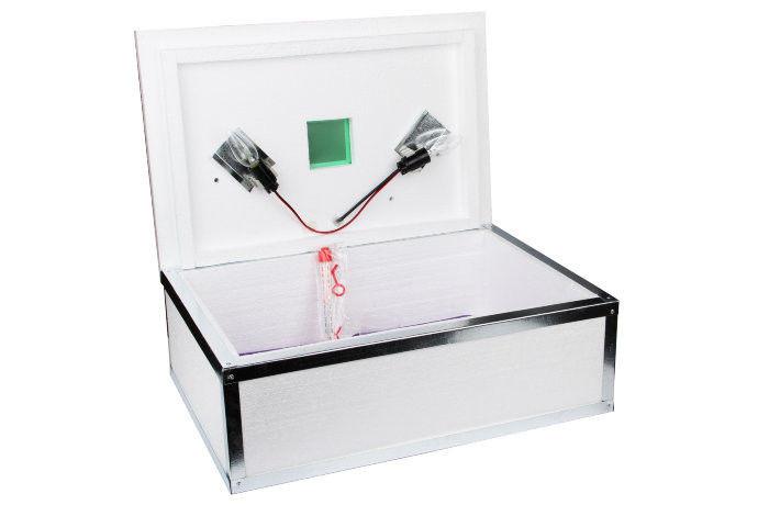 Бытовой инкубатор для яиц Наседка ИБА-70 автоматический переворот