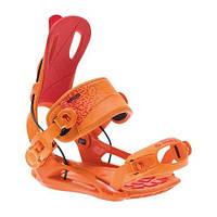 Популярні кріплення для сноуборду SP FT270 orange / red