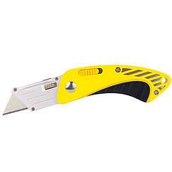 Нож-трапеция раскладной (обрезиненный корпус) SIGMA (8212081)