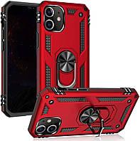 Чохол Shield для Iphone 12 mini Бампер протиударний Red