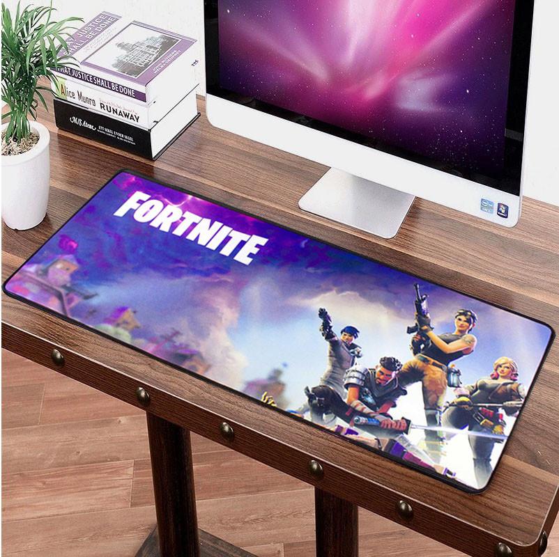 Компьютерный игровой коврик для мышки Logilily игровая поверхность  FORTNITE F-700-1 (30х70см)