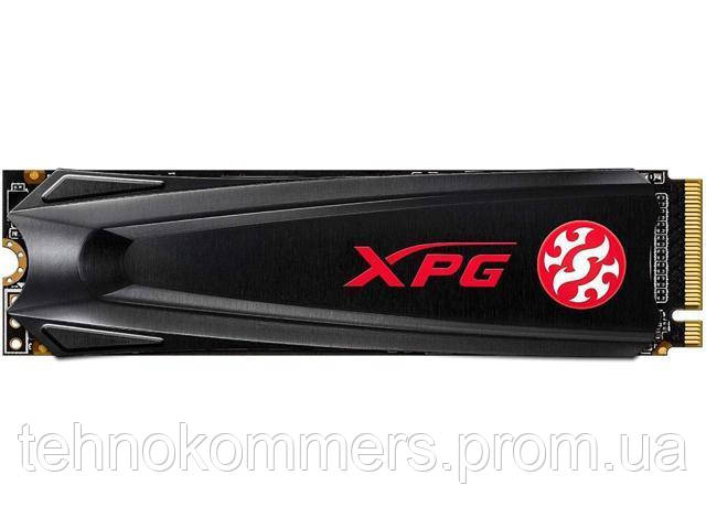 Накопичувач SSD A-DATA XPG GAMMIX S5 256GB M.2 PCI Express 3.0x4 3D NAND TLC, фото 2