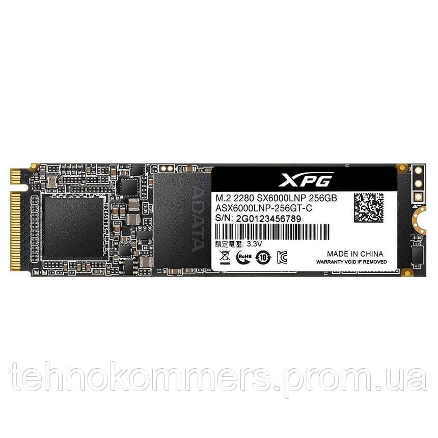Накопичувач SSD A-DATA XPG SX6000 Lite 256GB M.2 PCI Express 3.0x4 3D NAND TLC, фото 2
