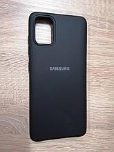 Чехол для Samsung A51 / M40s Silicone Case Black